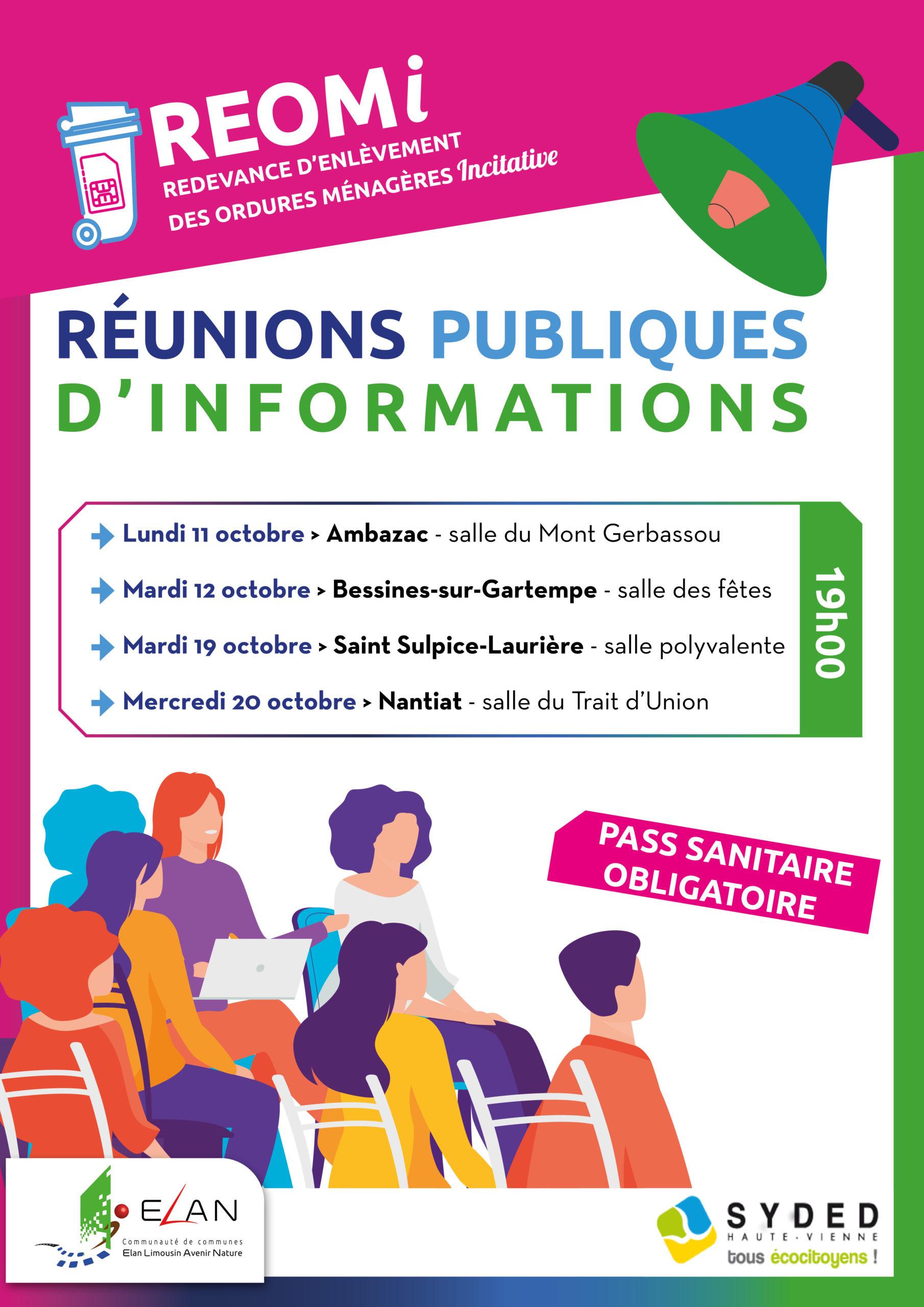 flyer réunion publique