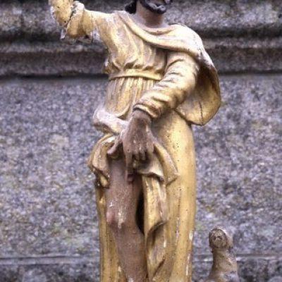 Groupe sculpté Saint Roch